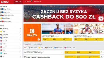 WirtualnyBukmacher.pl betclic-bukmacher-cashback-rejestracja-355x200